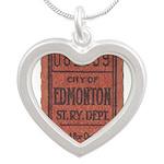 Edmonton Streetcar Railway Ticket Necklaces