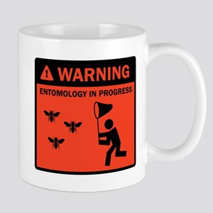 Warning - Entomology in Progr Mug