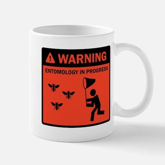 Warning - Entomology in Progr Mug