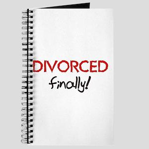 Divorced Finally Journal