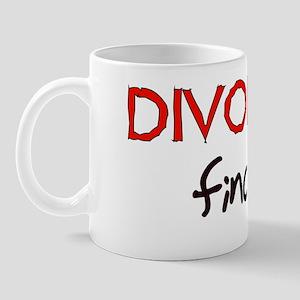 Divorced Finally Mug