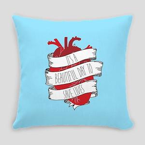 Grey's Anatomy Beautiful Day Heart Everyday Pillow