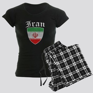 Iranian Flag Designs Pajamas