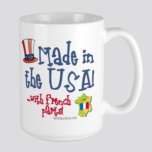 Made in the USA with French Parts Large Mug