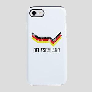 Deutschland Soccer Jersey Ge iPhone 8/7 Tough Case