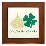 Garlic Framed Tiles