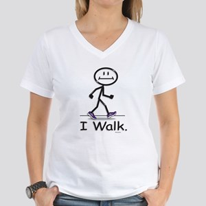 BusyBodies Walking Ash Grey T-Shirt