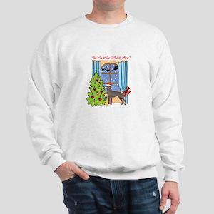 Doberman Pinscher Christmas Sweatshirt