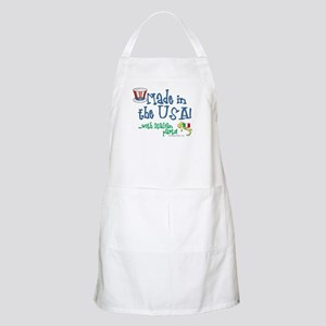 Made in the USA with Italian Parts BBQ Apron