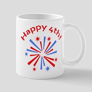 Happy 4th Mugs