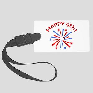 Happy 4th Luggage Tag
