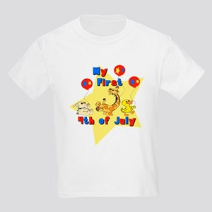 First 4th of July Parade Kids Light T-Shirt