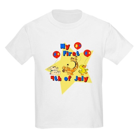 First 4th of July Parade Kids Light T-Shirt