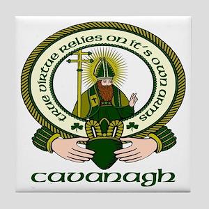 Cavanagh Clan Motto Tile Coaster