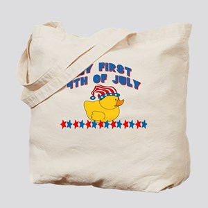 1st 4th of July Patriotic Duc Tote Bag