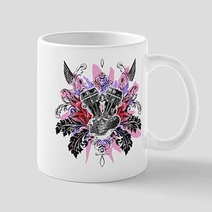 Panhead Flower Rose Red Mug