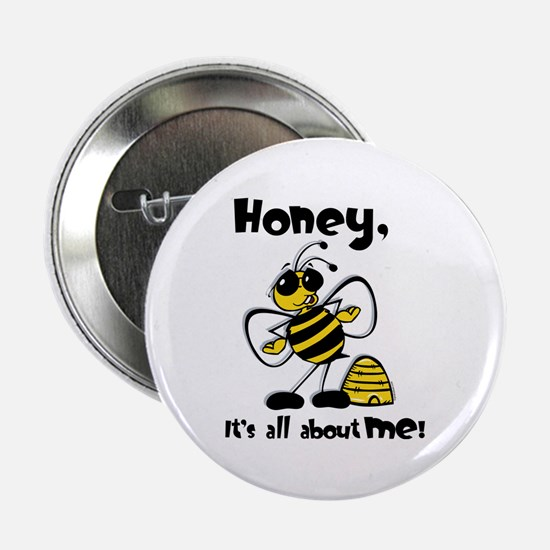 "All About Me Bee 2.25"" Button"