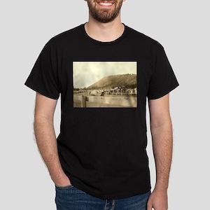 Vintage Motorcycle Half Miler Dark T-Shirt