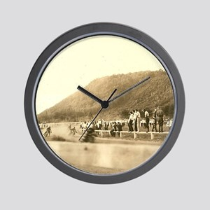 Vintage Motorcycle Half Miler Wall Clock