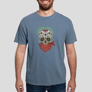 Cancun, Mexico, Souvenir Sugar Skull Desig T-Shirt
