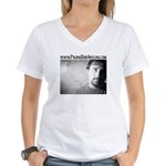 Paging Bob Avellini Women's V-Neck T-Shirt