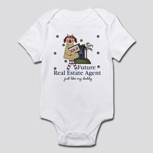 Future Real Estate Agent like Daddy Baby Bodysuit