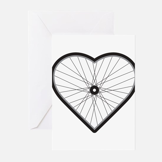 Love Road Cyclin Greeting Cards