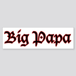 Big Papa Bumper Sticker