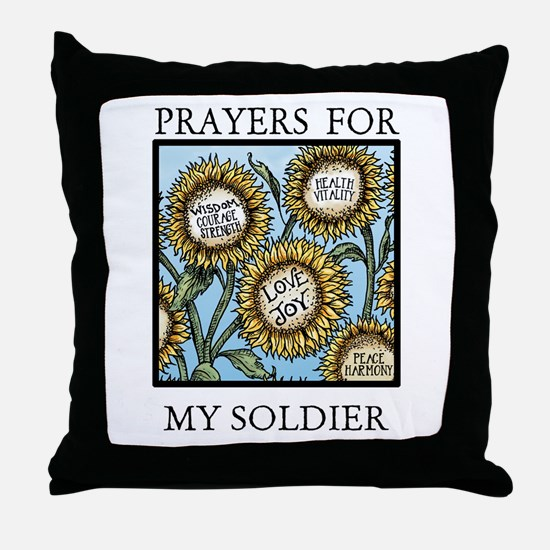 MY SOLDIER Throw Pillow