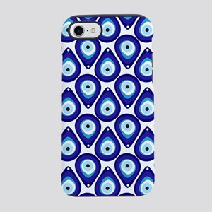 Evil eye protection pattern iPhone 8/7 Tough Case
