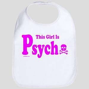 THIS GIRL IS PSYCHO Bib