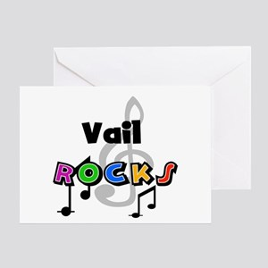 Vail Rocks Greeting Card