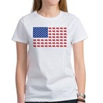 Goldwing Motorcycle Flag Tee Women's T-Shirt