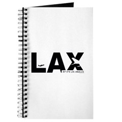 Los Angeles Airport LAX Black Des. Journal
