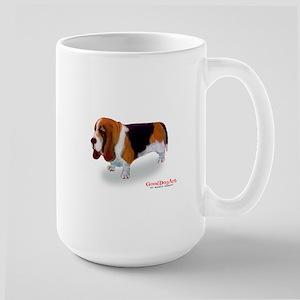 BASSETT HOUND Large Mug