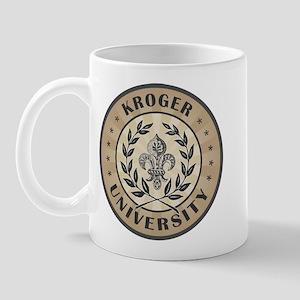 Kroger Last Name University Mug