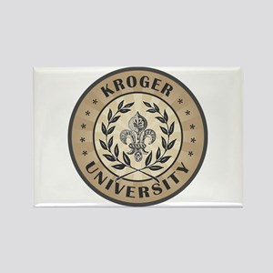 Kroger Last Name University Rectangle Magnet