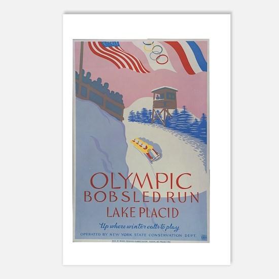 Cute Lake placid Postcards (Package of 8)
