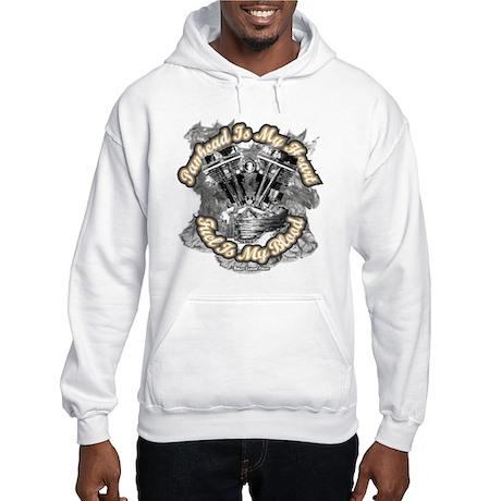 Panhead is My Heart - Fuel my Hooded Sweatshirt