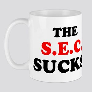 The S.E.C. Sucks! Mug