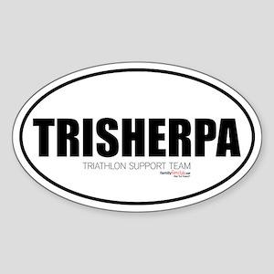 TriSherpa Oval Sticker