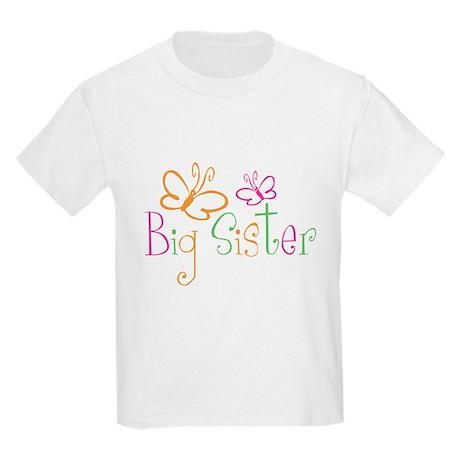 Big Sister Kids Light T-Shirt Big Sister T-shirt T-Shirt ...