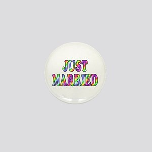 """Just married (1"""" mini button)"""