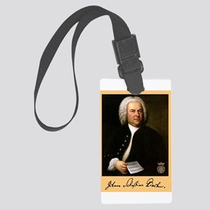 J.S. Bach Luggage Tag