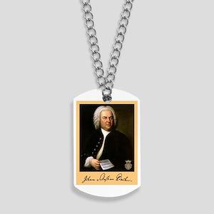 J.S. Bach Dog Tags