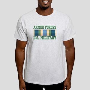 US Military Service Ribbon Light T-Shirt