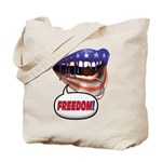 FlagMouth 'FREEDOM' [remix 2] Tote Bag