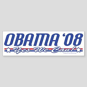 Obama '08 Modern Bumper Sticker