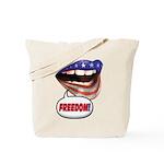 FlagMouth: FREEDOM Tote Bag