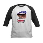 FlagMouth: FREEDOM Kids Baseball Jersey